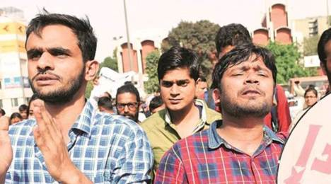 umar khalid and kanhaiya