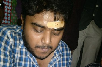 suman pandey journalist attacked raipur