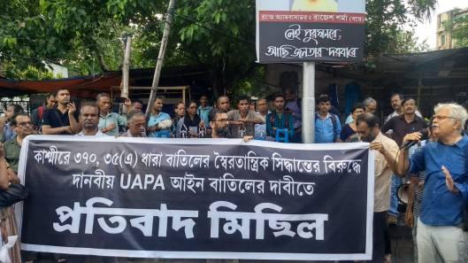 kolkata protest