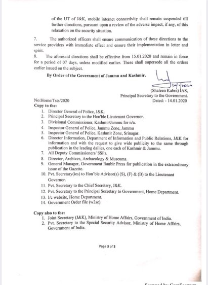 Govt order J&K telecom suspension3